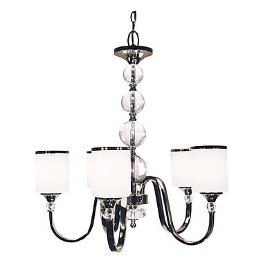 Z-Lite Cosmopolitan (307-5-CH) 5 Light Chandelier, 25