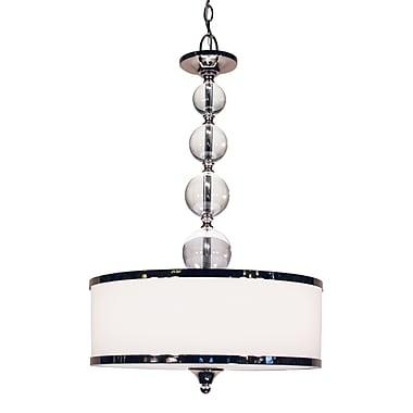 Z-Lite Cosmopolitan (307P-CH) 3 Light Pendant, 18