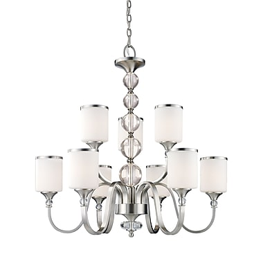 Z-Lite Cosmopolitan (308-9-BN) 9 Light Chandelier, 31