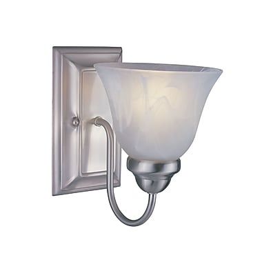 Z-Lite Lexington (311-1S-BN) 1 Light Wall Sconce, 8.75