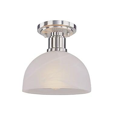 Z-Lite Chelsey (314F-BN) 1 Light Flush Mount, 8