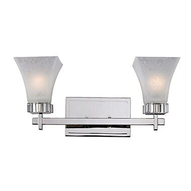 Z-Lite Pershing (319-2V) 2 Light Vanity Light, 6.63