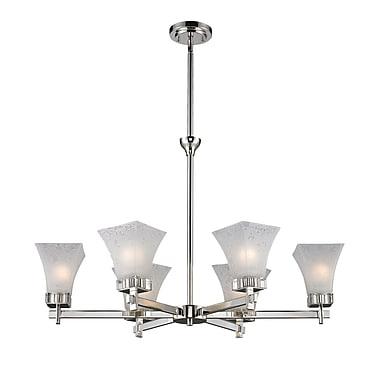 Z-Lite Pershing (319-6) 6 Light Chandelier Light, 32.13