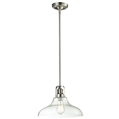 Z-Lite Forge (320-13MP-BN) 1 Light Pendant, 13