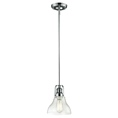 Z-Lite Forge (321-8MP-CH) 1 Light Mini Pendant, 7.5