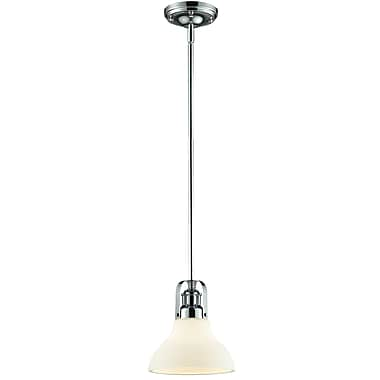 Z-Lite Forge (325-8MP-CH) 1 Light Mini Pendant, 7.5