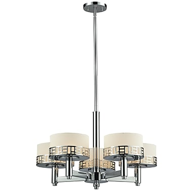 Z-Lite Elea (328-5-CH) 5 Light Chandelier, 24