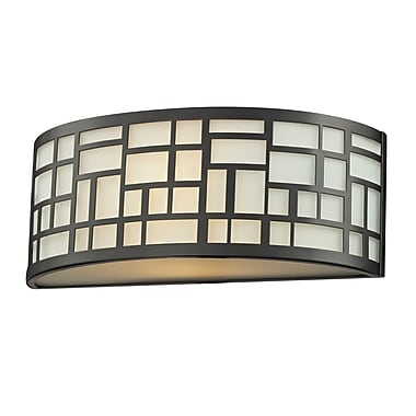 Z-Lite Elea (329-1S-BRZ) 1 Light Wall Sconce, 3.88