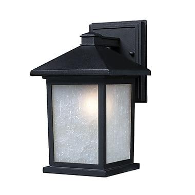 Z-Lite Holbrook (507M-BK) Outdoor Wall Lights, 9.13