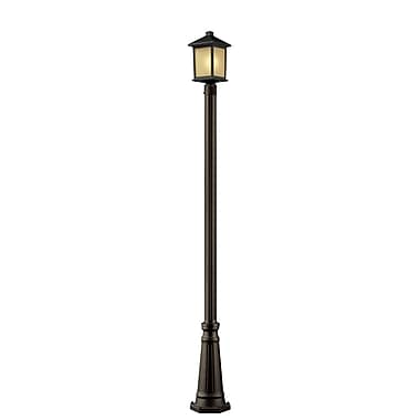 Z-Lite Holbrook (507PHM-519P-ORB) Outdoor Post Light, 10