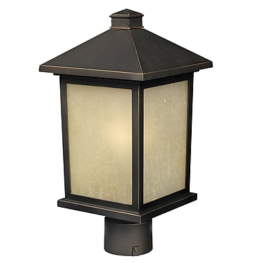 Z-Lite Holbrook (507PHM-ORB) Outdoor Post Light, 8.13