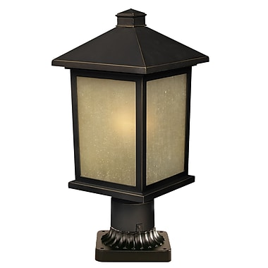Z-Lite Holbrook (507PHM-ORB-PM) Outdoor Post Light, 8