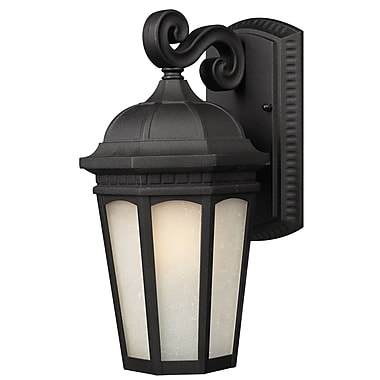 Z-Lite Newport (508B-BK) Outdoor Wall Light, 11.88