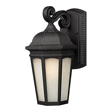 Z-Lite Newport (508M-BK) Outdoor Wall Light, 9.13