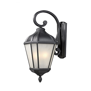 Z-Lite Waverly (513M-BK) Outdoor Wall Light, 15