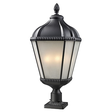 Z-Lite Waverly (513PHB-BK-PM) Outdoor Post Light, 13