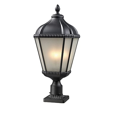 Z-Lite Waverly (513PHM-BK-PM) Outdoor Post Light, 11