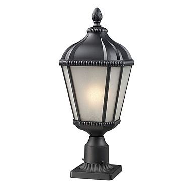 Z-Lite Waverly (513PHS-BK-PM) Outdoor Post Light, 9