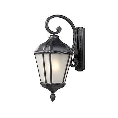 Z-Lite Waverly (513S-BK) Outdoor Wall Light, 12.25