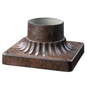 Z-Lite Pier Mounts (521PM-WB) - Support pour luminaire de pilier pour l'extérieur, 5,75 po x 5,75 po x 3,25 po, bronze huilé