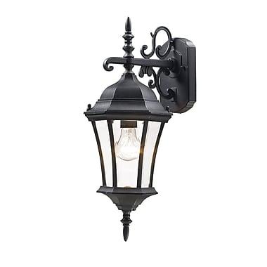 Z-Lite Wakefield (522S-BK) Outdoor Wall Light, 8