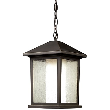 Z-Lite Mesa 524CHB, 1 Light Outdoor Chain Light, 9.5