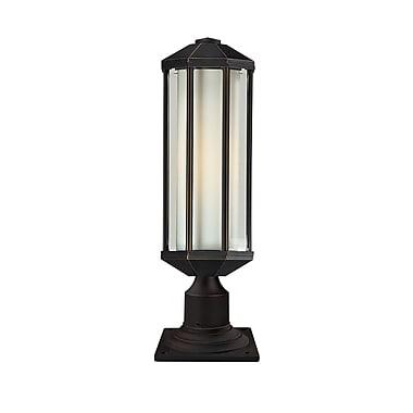 Z-Lite – Luminaire de pilier pour l'extérieur Cylex (526PH-533PM-ORB), 6 x 20,8 po, bronze antique