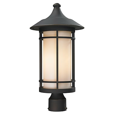 Z-Lite Woodland (528PHB-ORB) Outdoor Post Light, 10