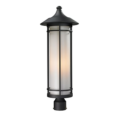 Z-Lite Woodland (529PHB-BK) Outdoor Post Light, 10