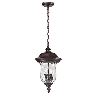Z-Lite Armstrong (533CHM-RBRZ) Outdoor Chain Light, 10