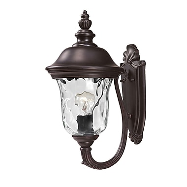 Z-Lite Armstrong (533S-RBRZ) Outdoor Wall Light, 10.38