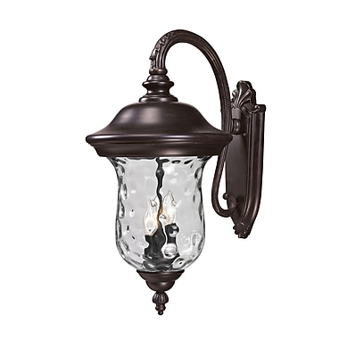 Z-Lite Armstrong (534B-RBRZ) Outdoor Wall Light, 16