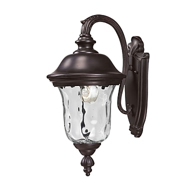Z-Lite Armstrong (534S-RBRZ) Outdoor Wall Light, 10.38