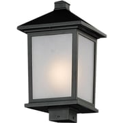 Z-Lite – Têtes de lampadaire pour l'extérieur Holbrook (537PHB-BK), 9,5 x 17 po