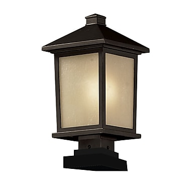 Z-Lite Holbrook (537PHB-SQPM-ORB) Outdoor Post Light, 9.5