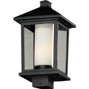 """Z-Lite Mesa 538PHB-BK, Outdoor Post Lights, 9.5"""" x 17"""""""