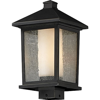 Z-Lite Mesa 538PHB-ORB, Outdoor Post Light, 9.5