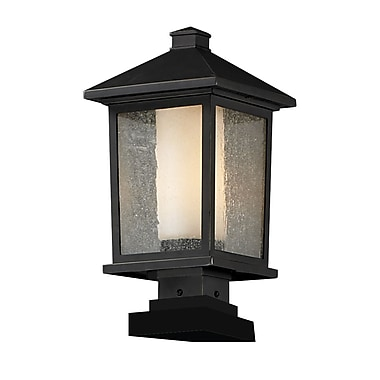 Z-Lite Mesa 538PHB-SQPM-ORB, Outdoor Post Light, 9.5