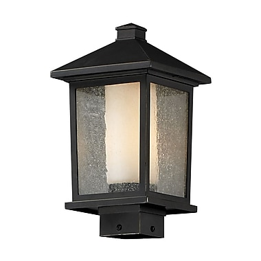 Z-Lite Mesa 538PHM-ORB, Outdoor Post Light, 8.13