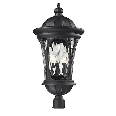 Z-Lite Doma (543PHB-BK) Outdoor Post Light, 14