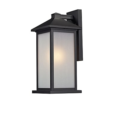 Z-Lite Vienna (547M-BK) Outdoor Wall Mount Light, 9.13