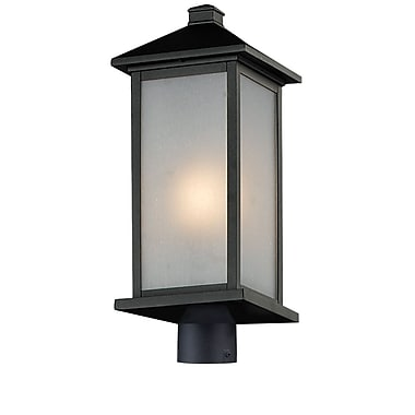 Z-Lite Vienna (547PHB-BK-R) Outdoor Post Light, 9.5