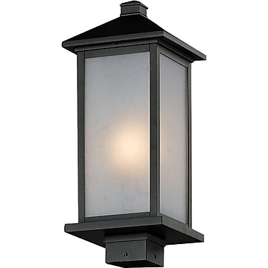 Z-Lite Vienna (547PHM-BK) Outdoor Post Light, 8