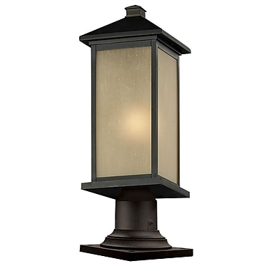 Z-Lite Vienna (548PHBR-533PM-ORB) Outdoor Post Light, 9.5
