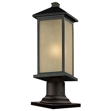 Z-Lite – Luminaire de pilier extérieur Vienna (548PHMR-533PM-ORB), 8 x 23,25 po, bronze huilé