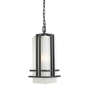Z-Lite Abbey (549CHB-BK) Outdoor Chain Light, 7.75