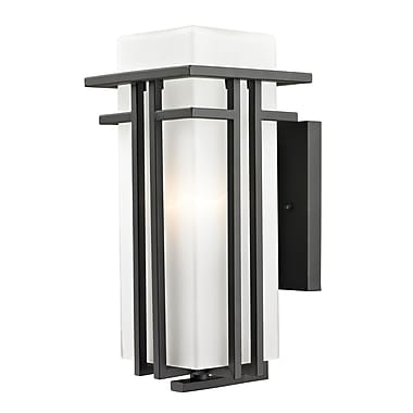Z-Lite Abbey (550M-ORBZ) Outdoor Wall Light, 8.25