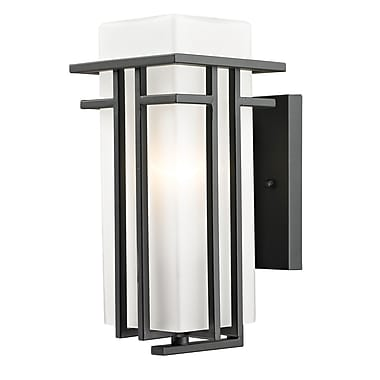 Z-Lite Abbey (550S-ORBZ) Outdoor Wall Light, 6.75