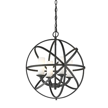 Z-Lite Aranya (6017-4S-BRZ) 4 Light Pendant, 18.31