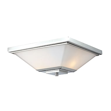 Z-Lite Affinia (602F) 2 Light Flush Mount , 13.75